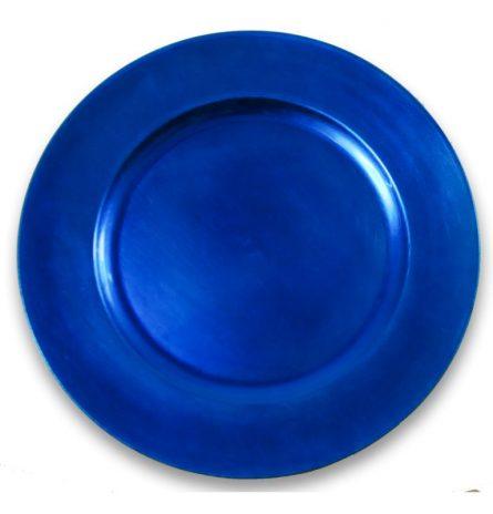 Blue Melamine Charger Plate