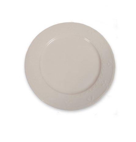 Cream Dinner Plate