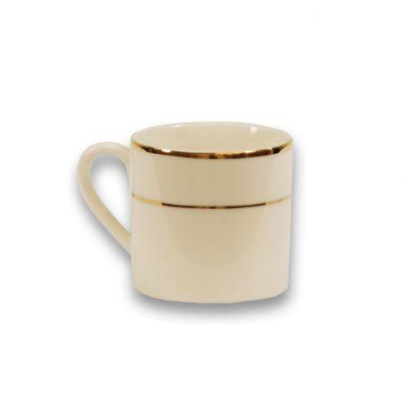 Gold Rim Espresso Cup