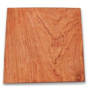Mahogany Square Charger Plate