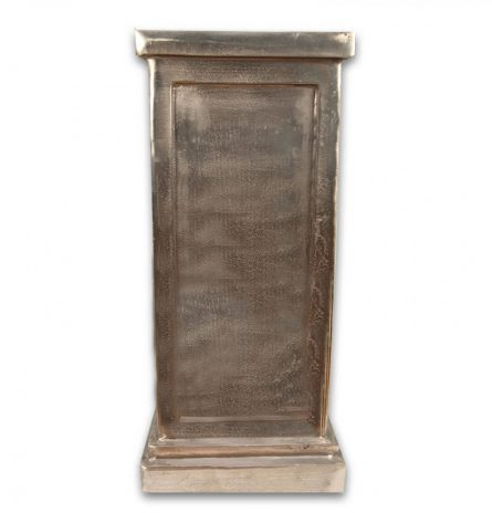 Metallic Pedestal