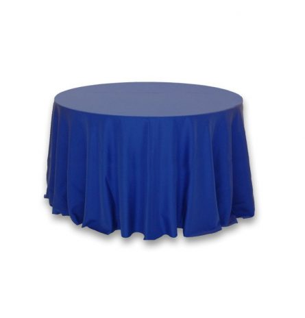 Royal Blue Polyester 108 Round