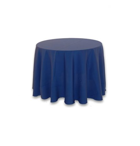 """Royal Blue Polyester 90"""" Round"""