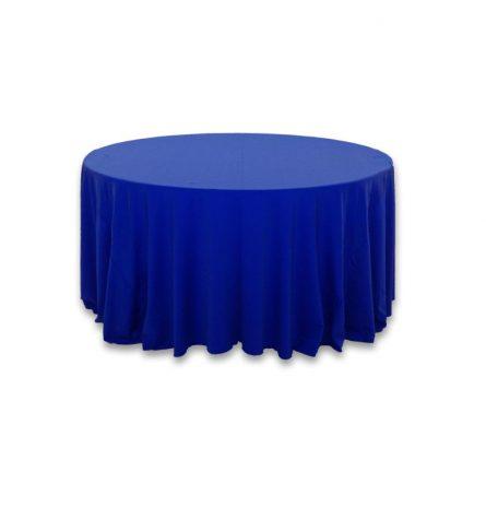 Royal Blue Spandex 120 Round