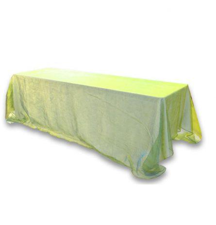 Teal Green Iridescent Organza 8ft