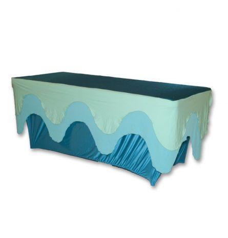 Three Tone wave spandex