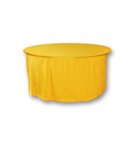 Yellow Spandex 60 Round