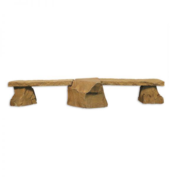 3 Piece Rock Bench
