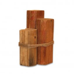 3 Tier Wood Pylons Small