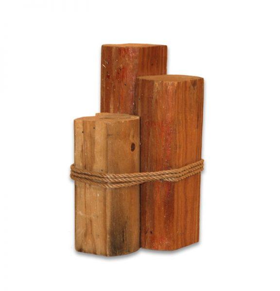 3 Tier Wood Pylons Small