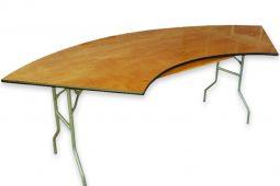7' Serpentine Table