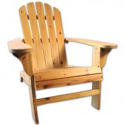 Adirondack Wooden Chair