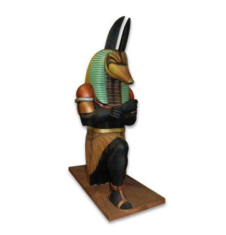 Anubis Statue Kneeling