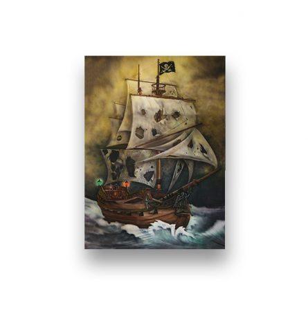 Backdrop Bad Pirate Ship