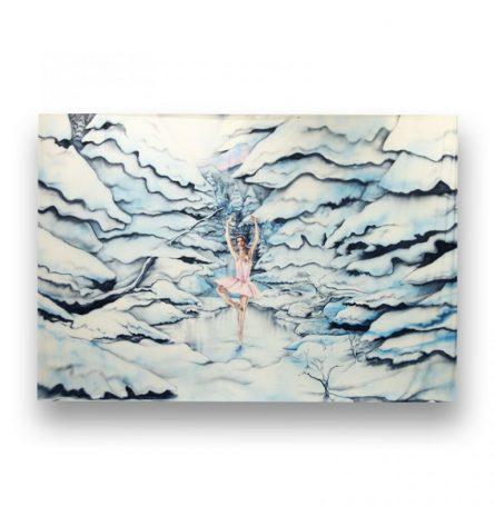 Backdrop Ice Ballerina