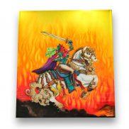 Backdrop Knight on Horse