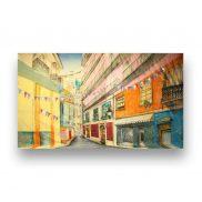 Backdrop Old San Juan