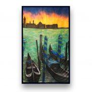 Backdrop Venetian Gondola 1