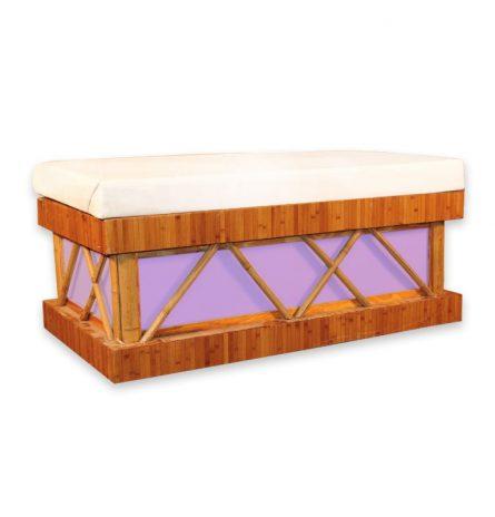 Bamboo Acrylic Bench
