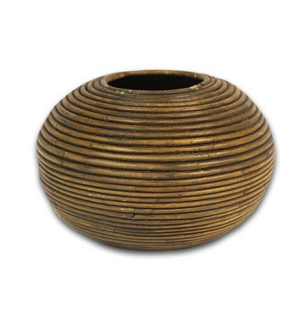 Bamboo Round Planter