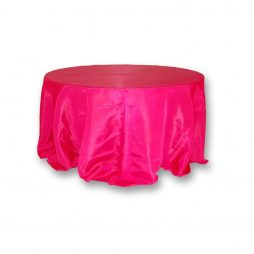 Bengaline Tablecloth Fuchsia