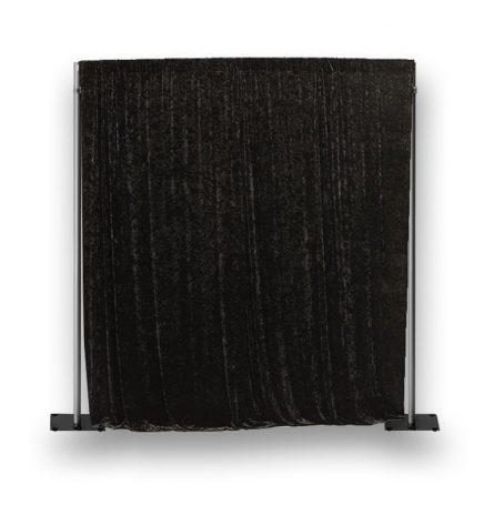 Black Crushed Velour