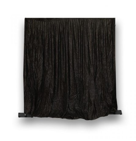 Black Eyelash Drape