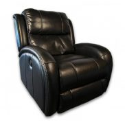 Black Leather Recliner Electric