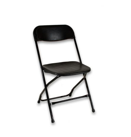 Black Samsonite Chair