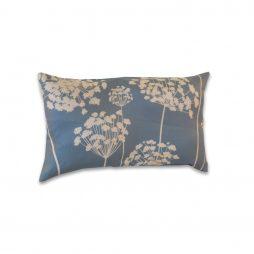 Blue Flower Pillow Cover