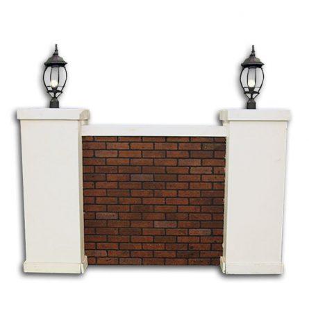 Brick Wall Set Backdrop