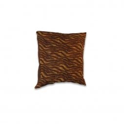 Brown and Gold Pillow Cover