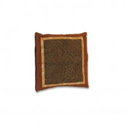 Brown and Green Pillow Cover