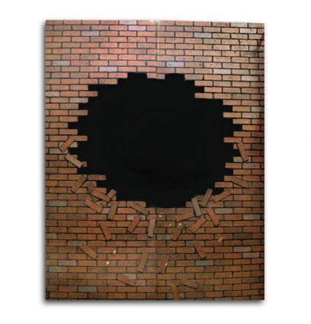 Busted Brick Wall Set Backdrop