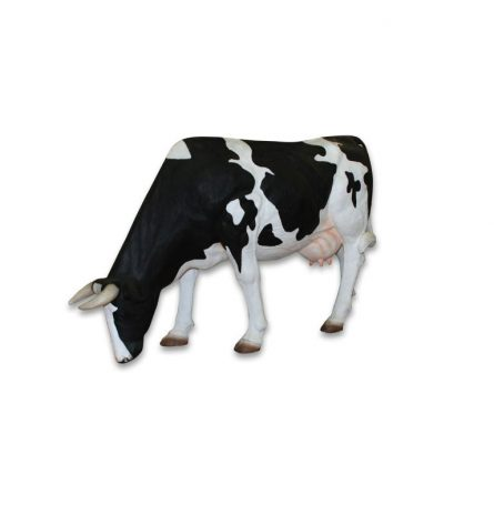 Cow Statue Eating