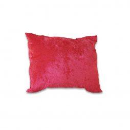 Crushed Fuchsia Velvet Pillow Cover