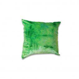 Crushed Lime Green Velvet Pillow Cover