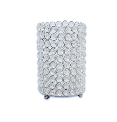 Crystal Cylinder Centerpiece