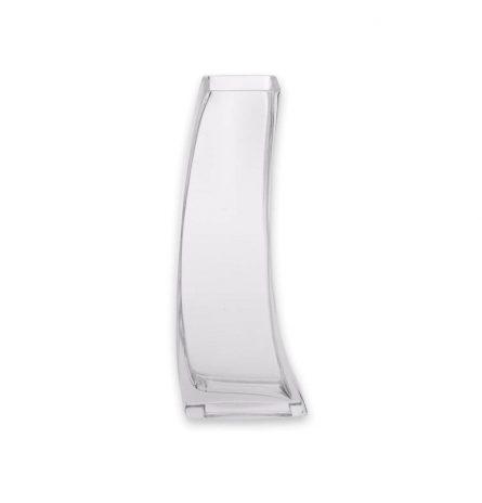 Curved Glass Vase Medium