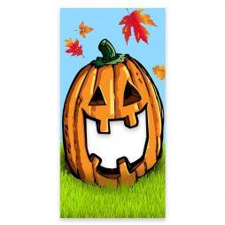 Face Cut Out Pumpkin