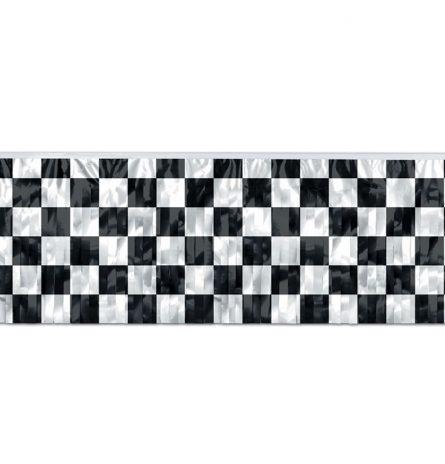 Flag Metallic Checkered