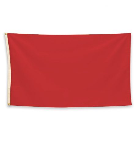 Flag Solid Red