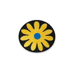 Flower Medallion Yellow and Blue