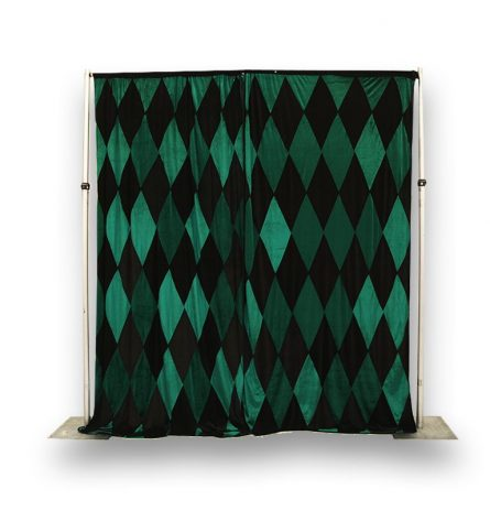 Green and Black Harlequin