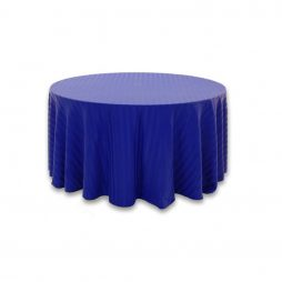 Imperial Stripe Royal Blue Tablecloth