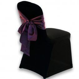 Lamour Chair Tie Eggplant