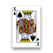 Life Size Playing Card King