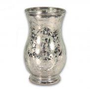 Mercury Silver Glass Vase