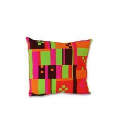 Multi-Colored Blocks Pillow Cover