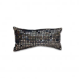 Navy Sequin Pillow Cover